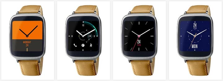 photo montre connectee Asus ZenWatch
