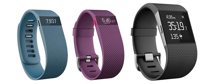 photo montre connectee Fitbit Surge