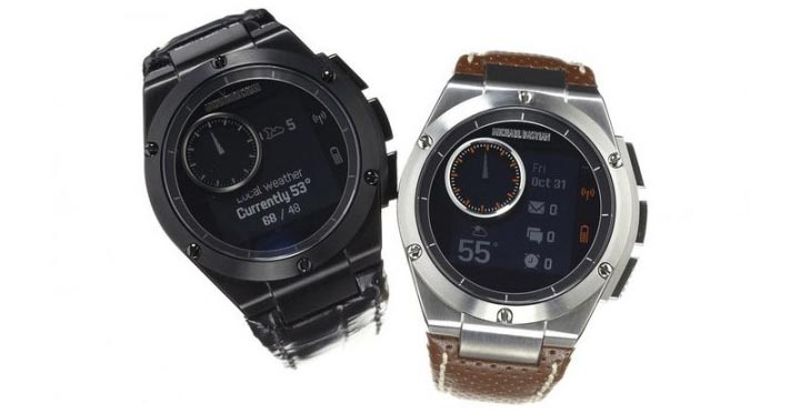 montre connectee luxe HP MB Chronowing