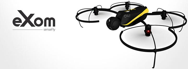 photo drone Parrot senseFly eXom quadcopter
