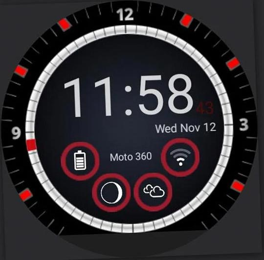 Creer Sa Propre Watchface Fond D Ecran Pour Smartwatch