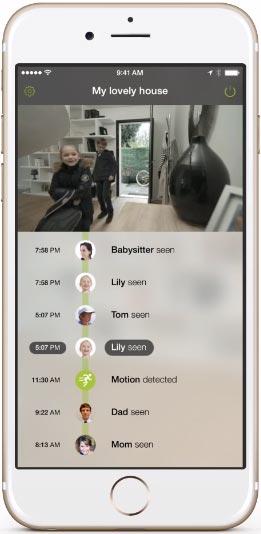 Netatmo Welcome caméra de surveillance à reconnaissance faciale