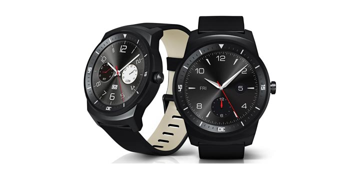 photo montre connectee LG G Watch R AndroidWear