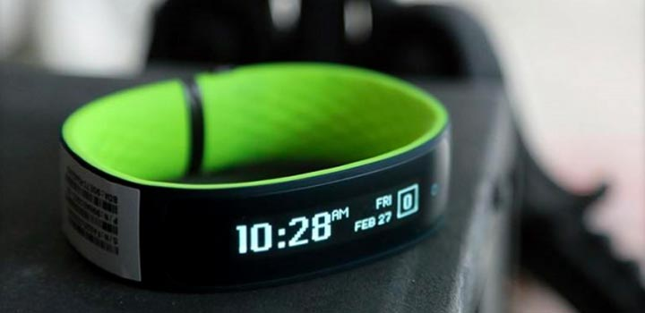 Bracelet connecté HTC Grip Fitness