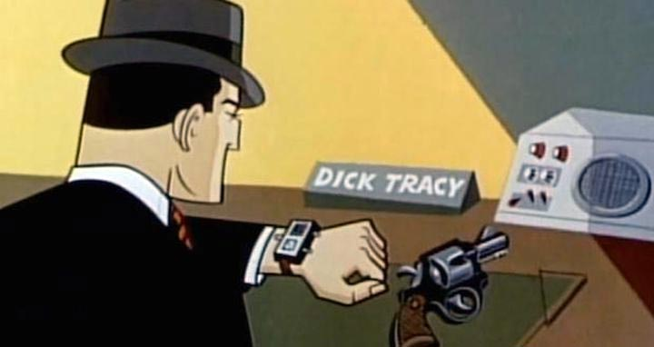 montre connectee Dick Tracy