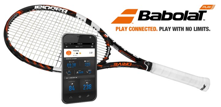 Babolat Play raquette de tennis connectée