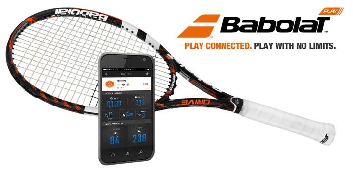 Babolat Play raquette de tennis connectée