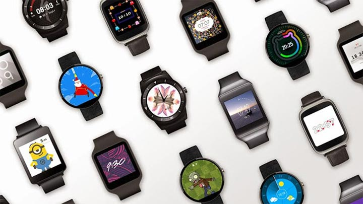 photo montre connectée Google Android Wear