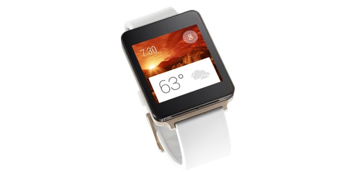 photo montre connectee LG G Watch AndroidWear