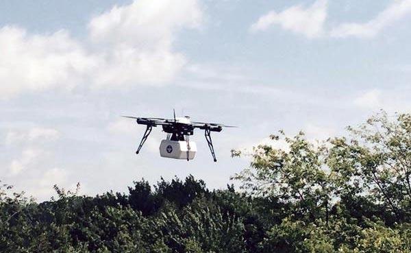 photo livraison de médicaments par drone