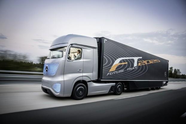 mercedes camion autonome futur