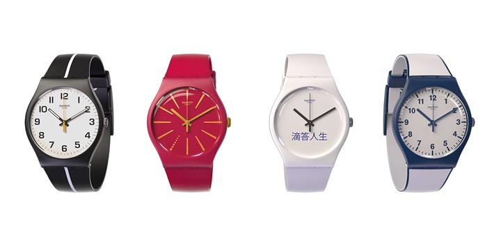 montre paiement sans contact Swatch Bellamy