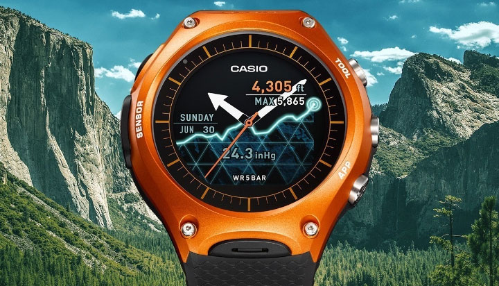 montre connectee Casio WSD-F10 Smart Outdoor Watch