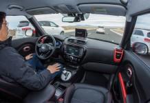 photo voiture autonome connectee Kia
