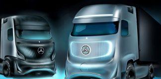 Mercedes camion autonome 2016 2017