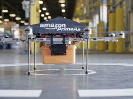Amazon Prime Air livraison colis par drone