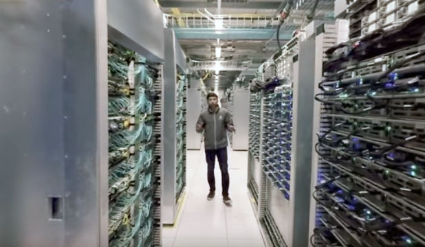 photo video VR datacenter google