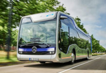 photo bus autnome futur Mercedes Benz