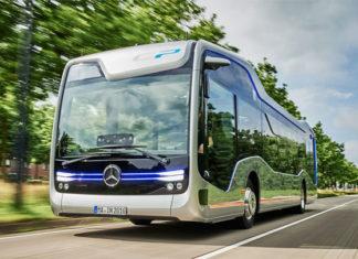 photo bus autnome futur Mercedes Benz