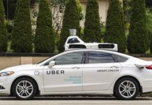 uber taxi autonome ford fusion