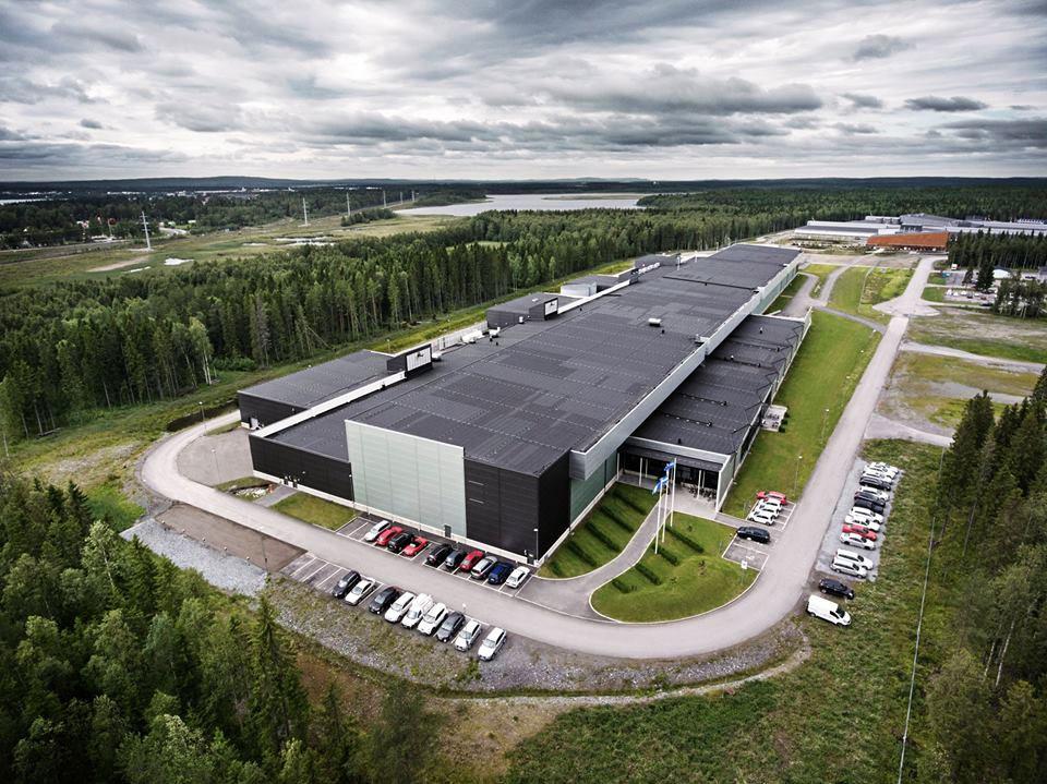 photo datacenter Facebook Suède serveur