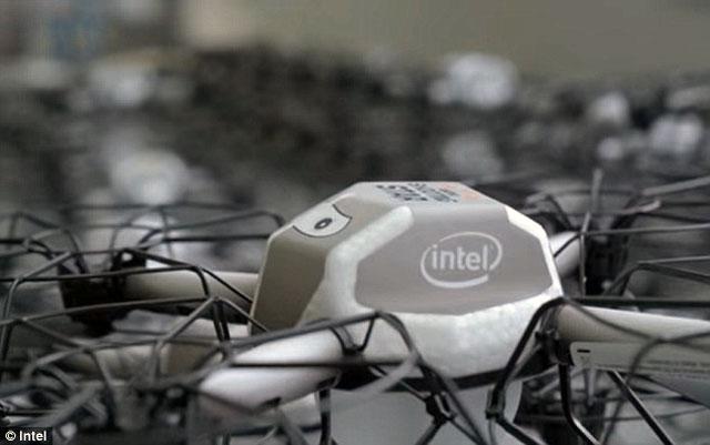 photo drone Intel