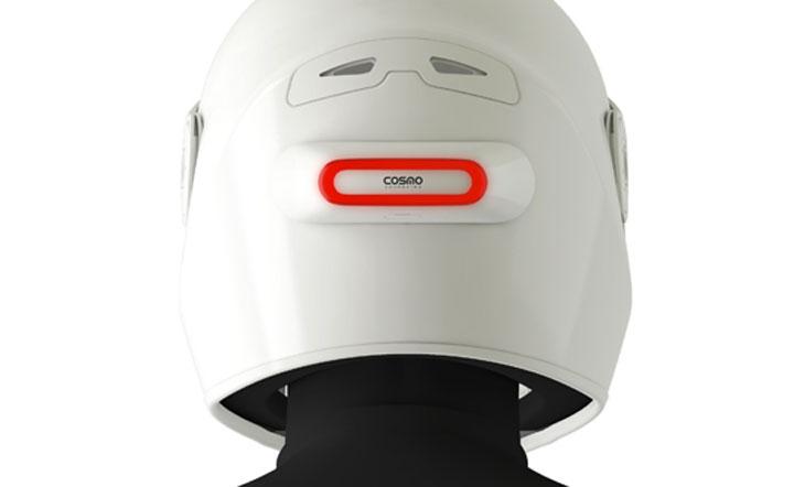 Cosmo Connected lumière casque moto velo connecté