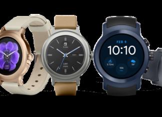 montre connectée smartwatch Google Android Wear 2.0