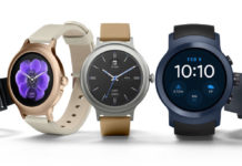 montre connectée smartwatch Google Android Wear 2.0