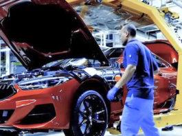 photo usine BMW serie 8 2019 M8
