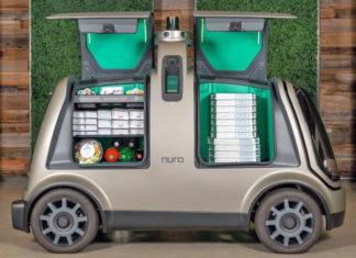 Domino's Pizza Nuro livraison autonome