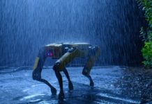 photo chien robot spot boston dynamics